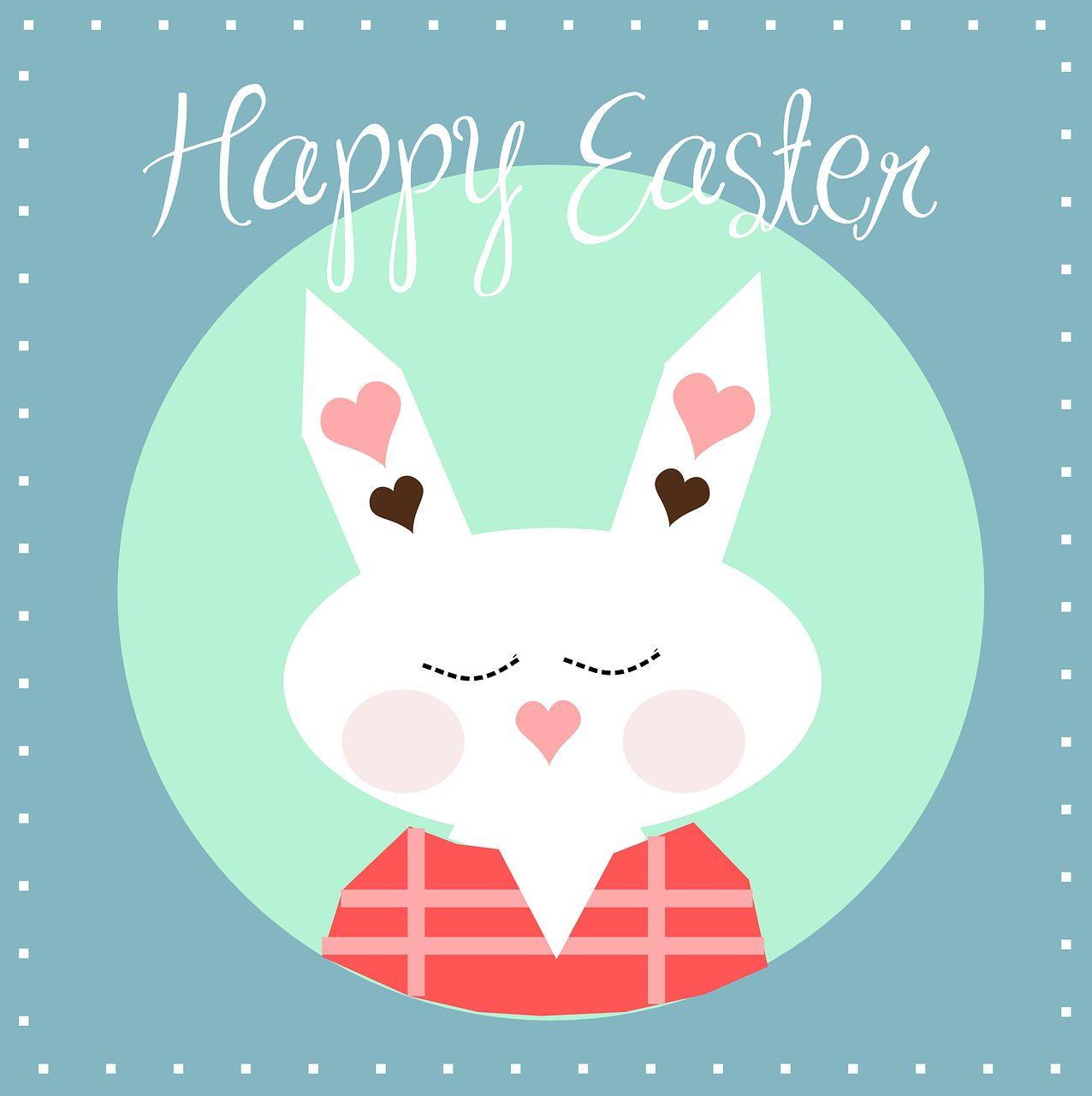 happy, easter, bunny